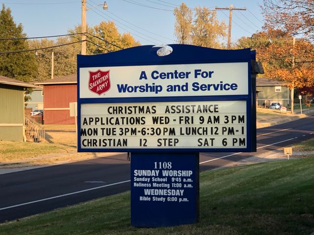 More Columbia residents are applying for the Salvation Army's Christmas Assistance Program.