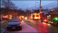 Story image: Fire breaks out in northeast Columbia