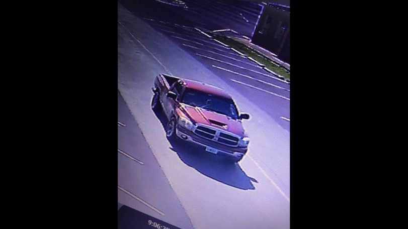 According to the Morgan County Sheriff's Office's Facebook page, the suspect got away in a red or maroon Dodge truck.