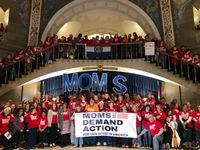 Story image: Moms Demand Action hold advocacy day at Missouri Capitol