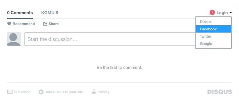 We're making it easier for you to interact. You can log in to comment through Disqus, Facebook, Twitter and Google.