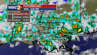 Strong storms to cut down afternoon heat