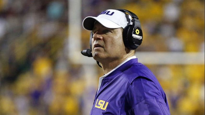 KU places Les Miles on administrative leave following reports of inappropriate behavior while at LSU