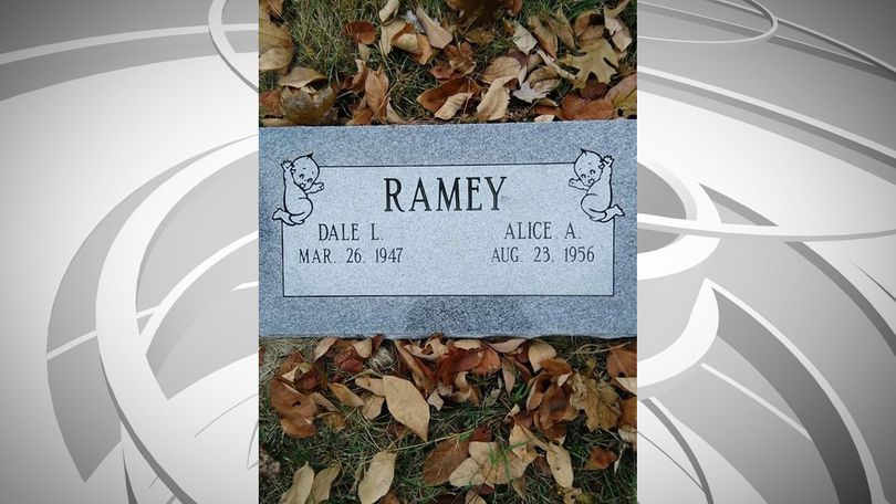 Alice Ramey is making sure her love of Kewpies outlives her. Two Kewpies are featured on the tombstone that will eventually mark her and her husband's graves.