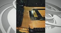 Story image: UPDATE: Hearnes Center volleyball court needs replacing, to cost at least $100,000