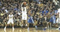 Story image: Kassius Robertson named player of the week