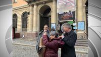 Story image: MU Nobel Prize winner arrives in Stockholm