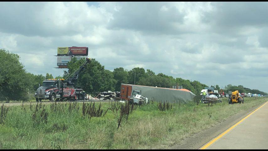 Deadly 18-wheeler crash prompts hours-long closure on I-10