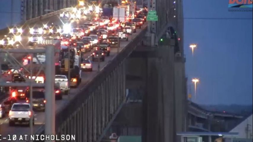 UPDATE: Mississippi River Bridge cleared following morning crash