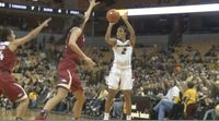 Story image: Missouri basketball sees no movement in rankings