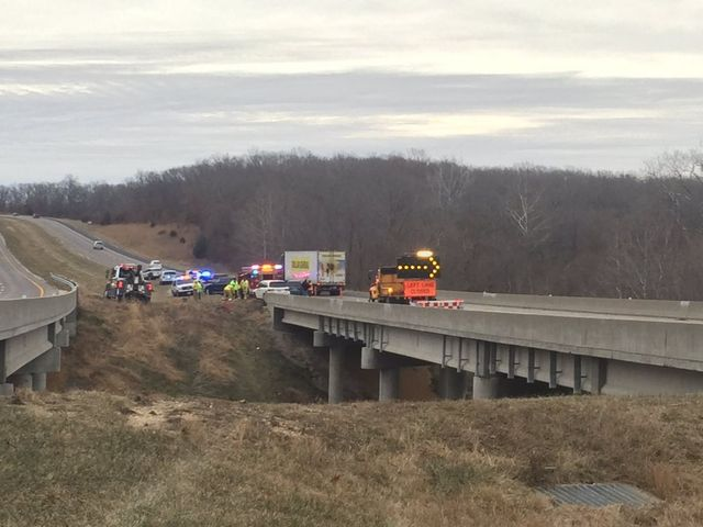 One person dead after crash on U S  54