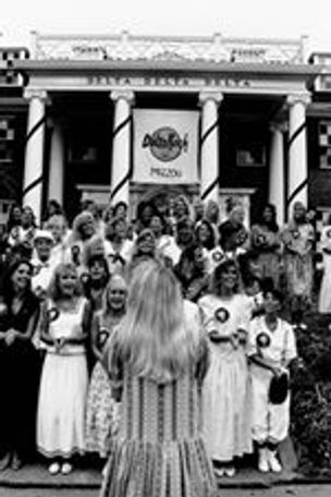 Tri Delta Sorority rush, 1989