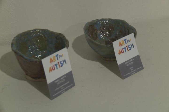 Art Exhibit Features Projects From Kids With Autism