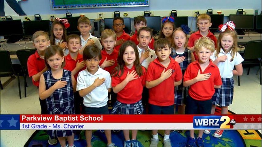 Parkview Baptist School: Ms  Charrier, 1st Grade