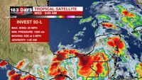 Air Quality Alert for Wednesday, Tropical moisture to move in Friday