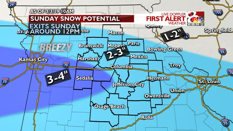 10AM Update: Snow exits midday, travel impacts to continue