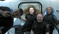 WATCH: First all-civilian space crew gives update on Inspiration4 mission from Earth's orbit