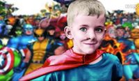 Story image: Super Sam's family honors his last wish