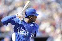 Story image: After getting call check swing, Cain lifts Royals over Twins