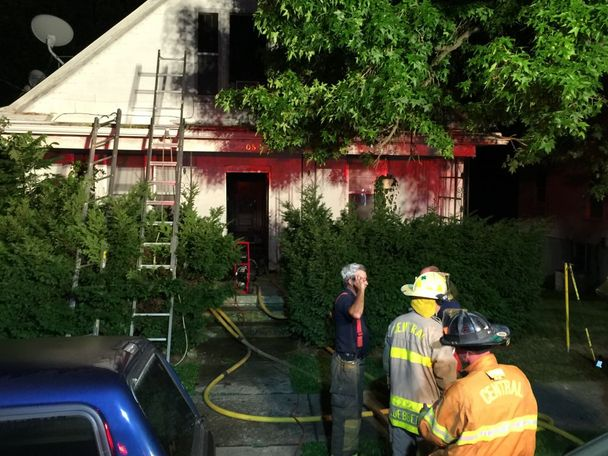 Photo provided by Fulton fire chief Kevin Coffelt