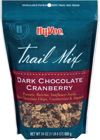 Hy-Vee Dark Chocolate Cranberry Trail Mix