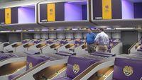 Take a walk-thru the new LSU Football Operations center