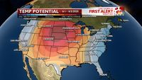 June may start with a heat wave for the central U.S.