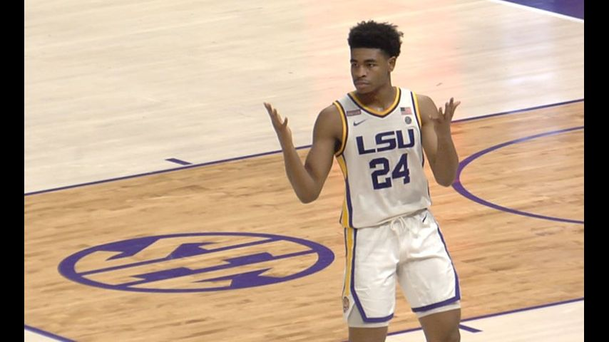 LSU clinches double bye in SEC Tournament with 83-68 win over Vanderbilt