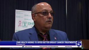 Breast Cancer Awareness Month: DHR Health working... Breast Cancer Awareness Month: DHR Health working to offer better treatme...