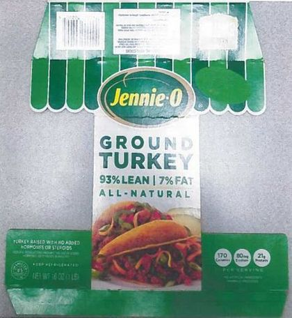 Jennie-O GROUND TURKEY 93% LEAN | 7% FAT