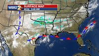 Front to deliver some cooler temperatures