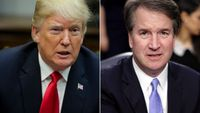 Story image: Kavanaugh's accuser accepts request to speak to Judiciary Committee next week, lawyers say