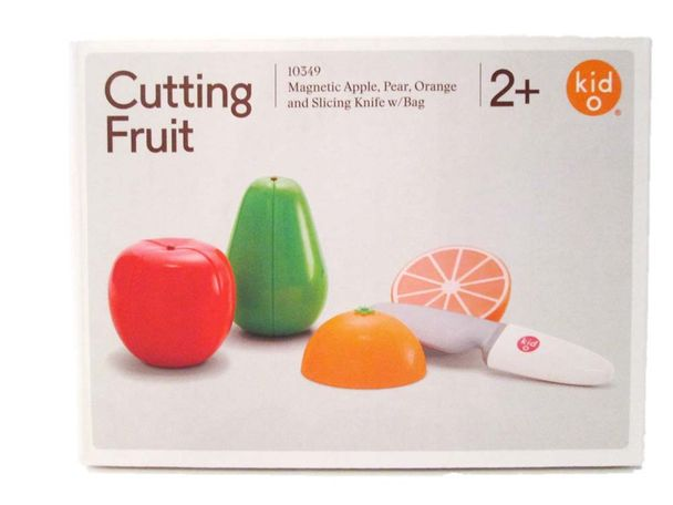 "W.A.T.C.H. says the magnetic apple, pear and orange are sold with a ""slicing knife"" made of hard plastic. The knife can potentially cause puncture wounds and other blunt trauma injuries."