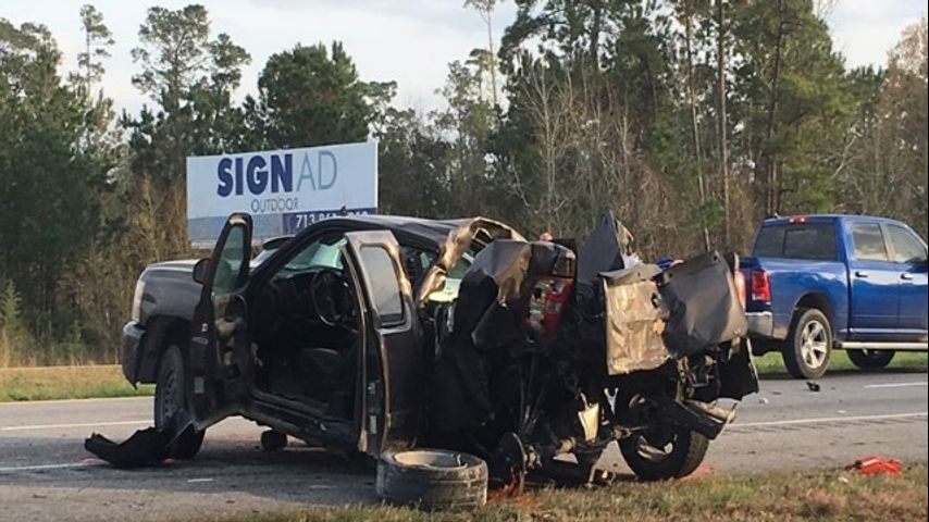 I-10 at Louisiana/Texas state line reopens after crashes
