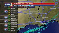 As rain ends early Wednesday, focus shifts to Saturday storm system