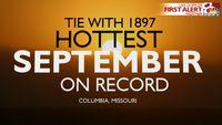 Story image: Mid-Missouri's hottest September since 1897, explained
