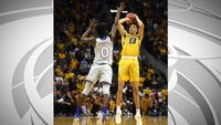 Story image: It's back: Missouri, Kansas basketball to renew Border War