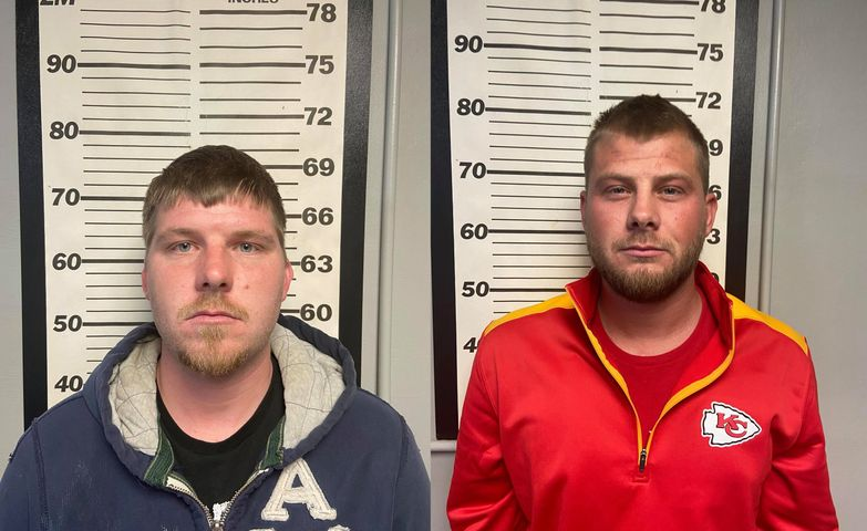 Cody Faulkner and Chad Faulkner (Photos: Maries County Sheriff's Office)
