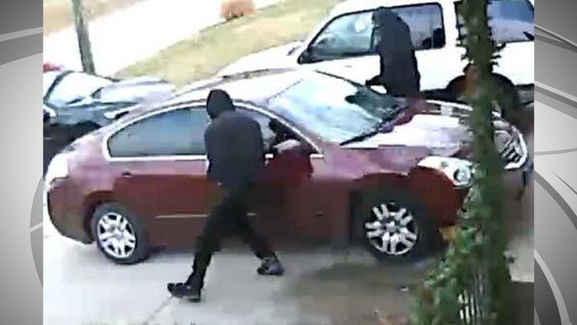 Police said the suspects were driving a maroon Nissan Altima with tinted windows.