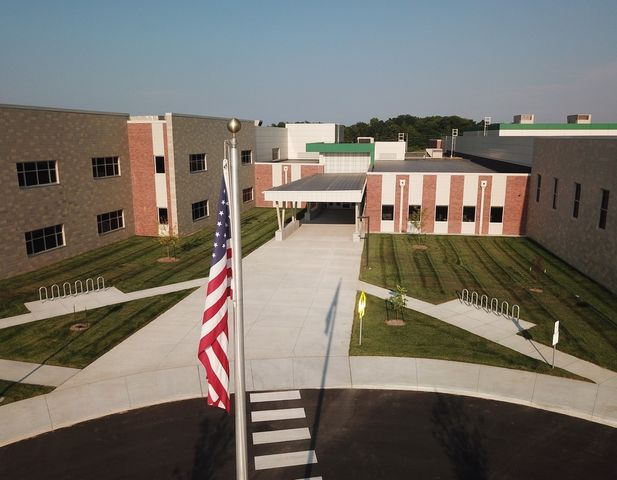COLUMBIA - The new John Warner Middle School in Columbia.