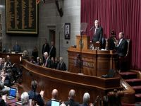 Story image: Governor Parson touts success, accomplishments in State-of-the-State address
