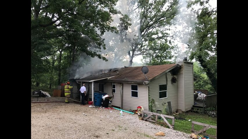 Camdenton house fire under investigation