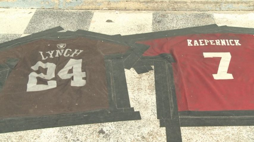 Lake Ozark bar criticized for NFL jersey doormat seen as racist