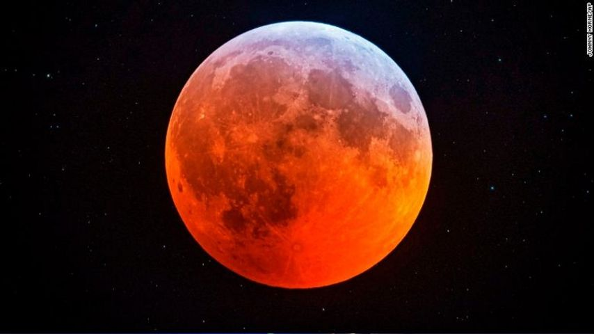 Total lunar eclipse comes with supermoon bonus - WBRZ