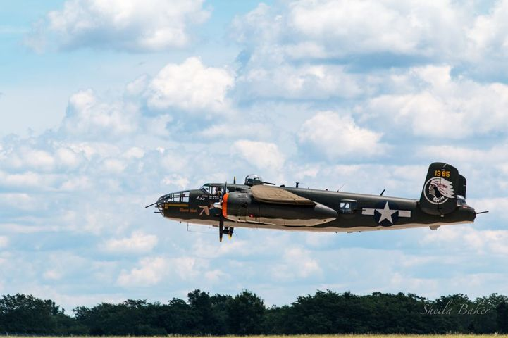 The 1944 WWII B-25 Mitchell Bomber known as