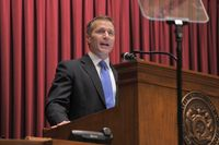 Story image: Local lawmakers mostly quiet on Greitens allegations