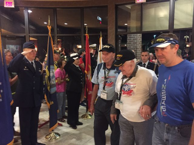 World War Two veteran Bob Dreier welcomed home after CMHF 49.