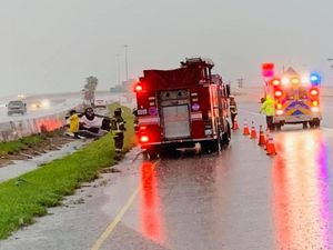 Traffic accident reported on expressway in Harlingen Traffic accident reported on expressway in Harlingen