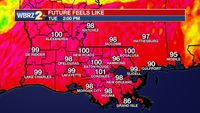Hot and muggy, A few showers still in the forecast