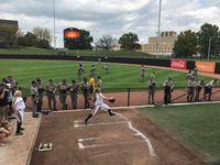 Story image: Mizzou Softball and Baseball battle for charity